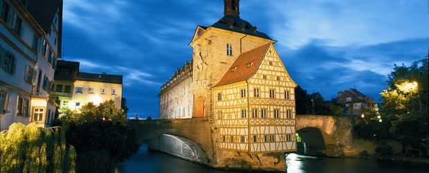 Altes Rathaus in Bamberg © Andreas Hub, TVF Foto