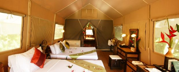 Im Zelt, ©: Hintok Tented River Camp