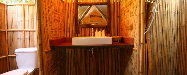 Badezimmer, ©: Hintok Tented River Camp