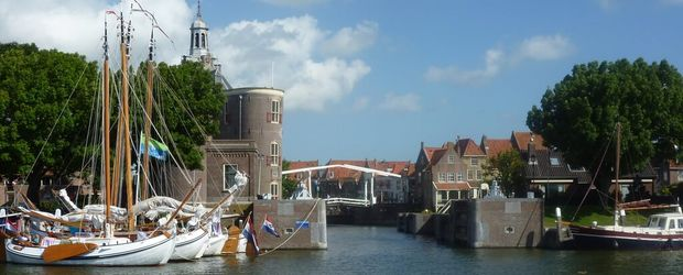Zuiderzeemuseum Enkuizen harbour © Holland Media Bank